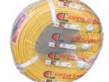 Cutix plc PVC Insulated and Sheathed Flat Twin-Core With Earth Copper Cables 300/500V (TYPE: NCXX-F+E)